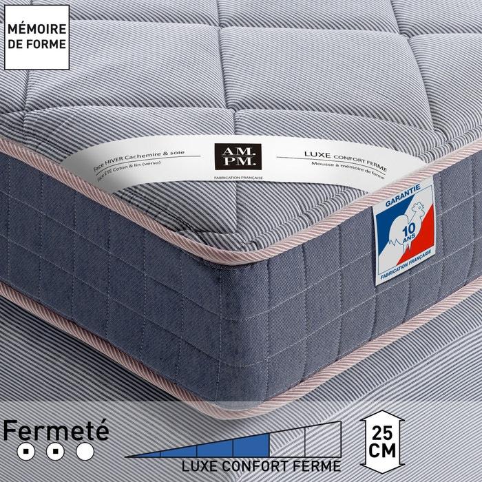 afbeelding Matras met mousse en vormgeheugen, stevig comfort, H25 cm, Altagama AM.PM.