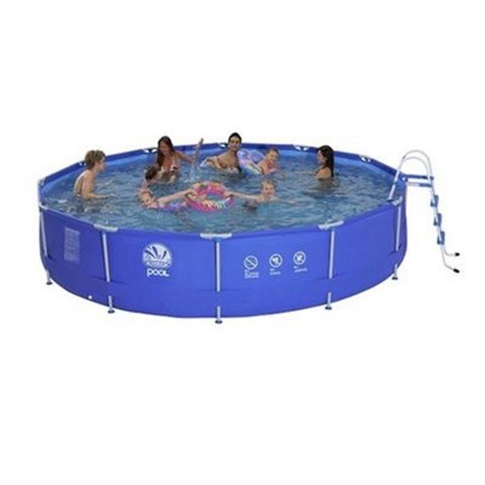 piscine tubulaire ronde 450 x 90 cm couleur unique jilong. Black Bedroom Furniture Sets. Home Design Ideas