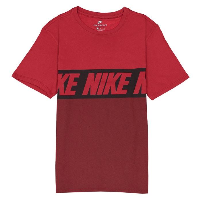 Image Tee shirt col rond imprimé, manches courtes NIKE