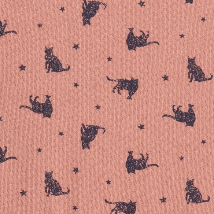 Image Robe molleton imprimée ''chats'' 3-12 ans La Redoute Collections