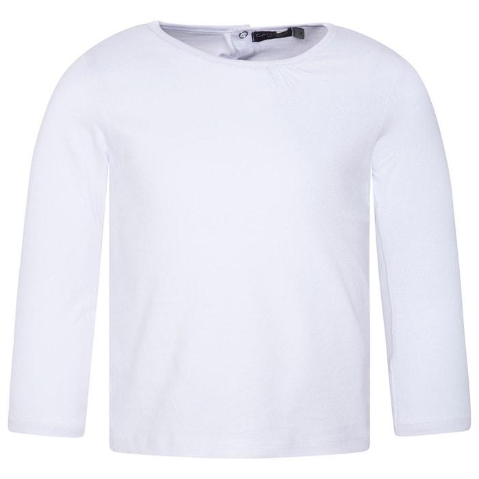 04a2dc779eec3 T-shirt manches longues bbplain bébé fille blanc blanco Canada House ...