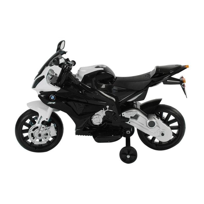 moto lectrique bmw pour enfant double moteur en pp noir et blanc homcom noir bmw la redoute. Black Bedroom Furniture Sets. Home Design Ideas