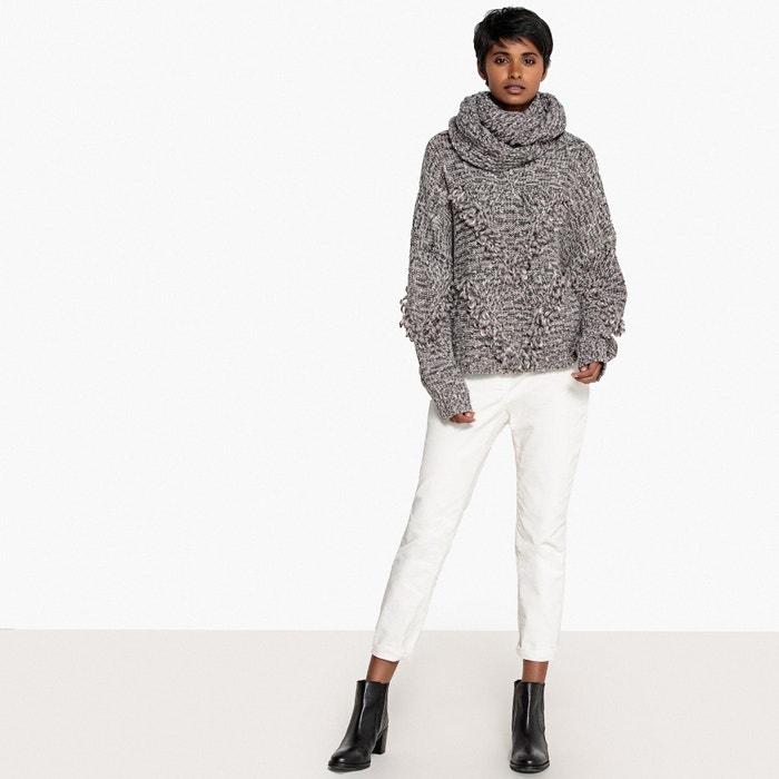 mano la Redoute Collections a venta con a hecho Jersey La snood Premium xOYSfqqw