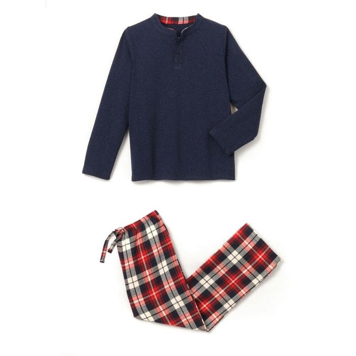 Pyjama bi-matière 2-16 ans