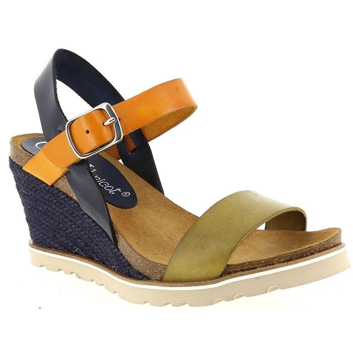 Sandales et nu-pieds coco et abricot v0931a  marine Coco Et Abricot  La Redoute