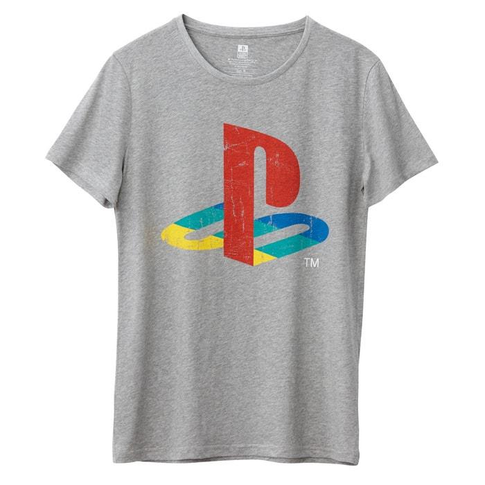 Bild T-Shirt mit rundem Ausschnitt und Aufdruck PLAYSTATION