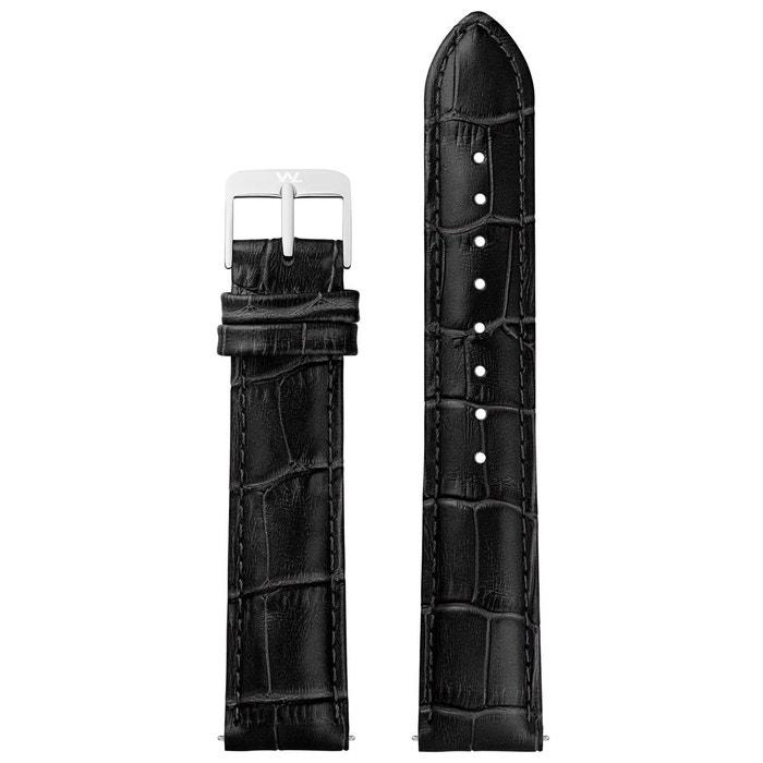 Vente Ebay Pas Cher Bracelet cuir noir William L. 1985 | La Redoute Qualité Supérieure Pas Cher En Ligne Qualité Originale Réel Frais De Port Offerts eHtC1z7f7