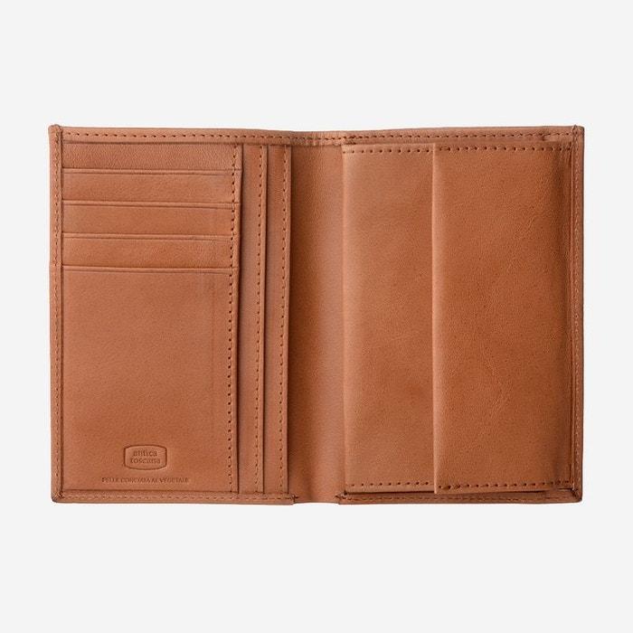 e8f07ff100 Antica toscana portefeuille pour homme avec porte-monnaie format vertical  en cuir vértitable italien porte-cartes et billets Antica Toscana | La  Redoute