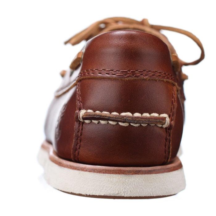 Baskets cuir tidelands marron Timberland
