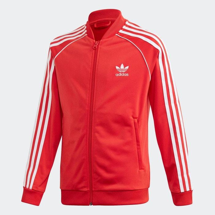 veste rouge adidas femme