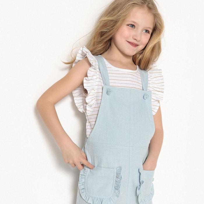 robe salopette 3 12 ans bleu la redoute collections la. Black Bedroom Furniture Sets. Home Design Ideas