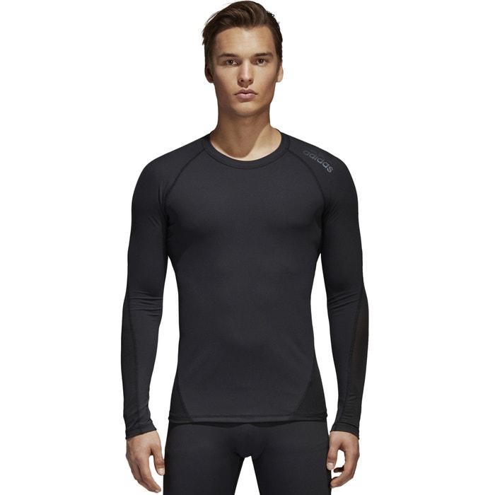 T-shirt con scollo rotondo tinta unita, maniche lunghe  ADIDAS PERFORMANCE image 0