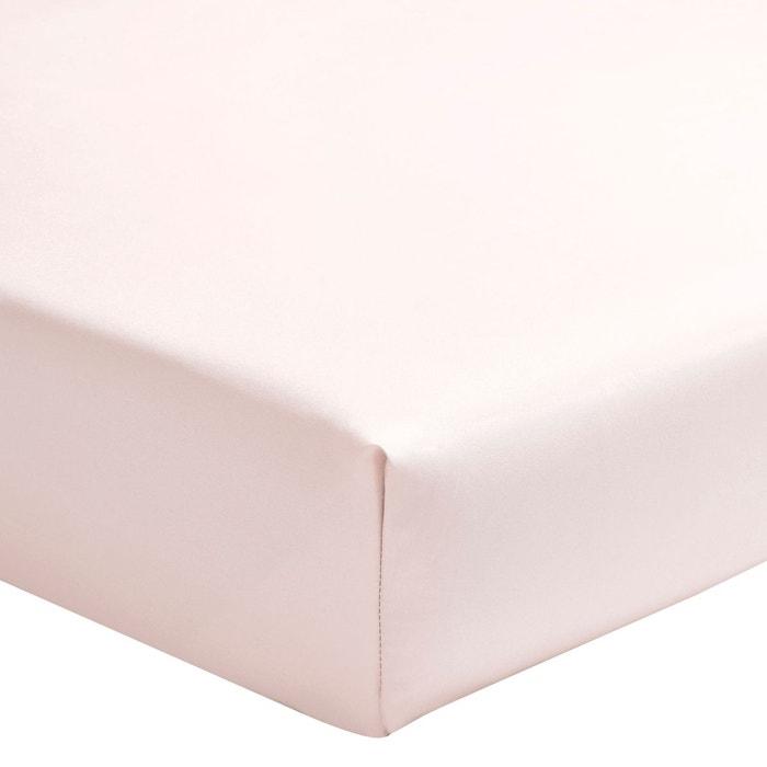 Percale coton drap housse double essix la redoute for Drap housse double