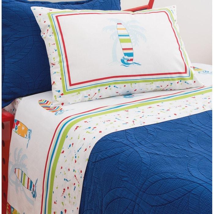 surf day parure de draps bleu asa la redoute. Black Bedroom Furniture Sets. Home Design Ideas