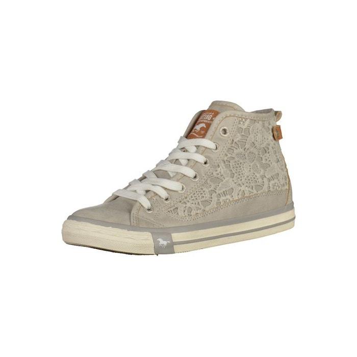 Sneaker  gris clair Mustang  La Redoute