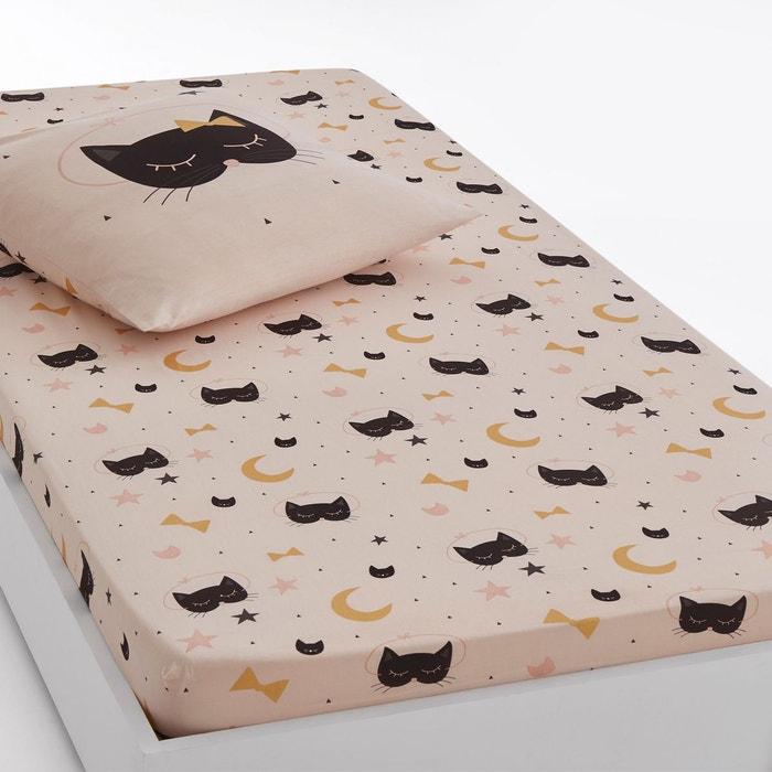 Drap-housse imprimé CAT OPERA