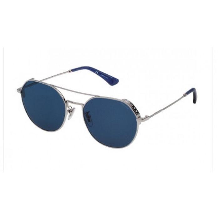 7367a3cf5a Lunettes de soleil pour homme police bleu spl 636n 0579 55/18 bleu Police |  La Redoute