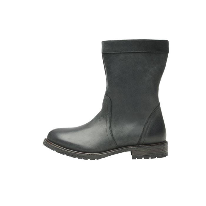 Boots dhiver en noir noir Shoepassion
