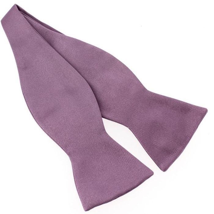 N?ud papillon à nouer en soie, parma, fait à la main violet Tony Et Paul | La Redoute