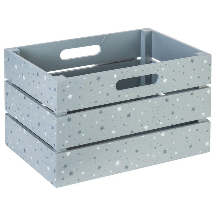 Cagette de rangement gris gris atmosphera la redoute - La redoute rangement ...