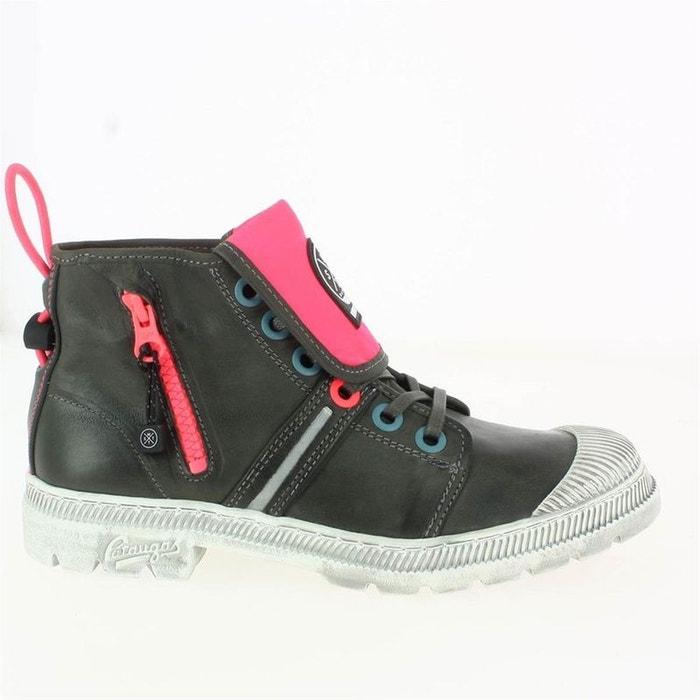 Pataugas Bottines Redoute La Gris Boots Textile Zq1wx1UYt