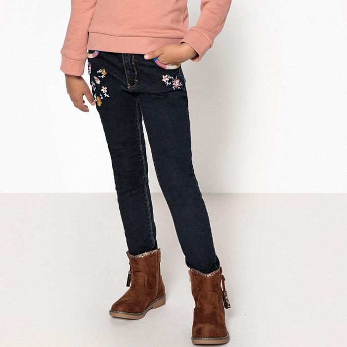 Jeans skinny ricamato 3 - 12 anni  La Redoute Collections image 0