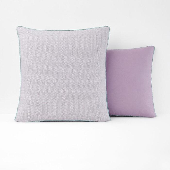 taie d 39 oreiller imprim agrumo imprim parme la redoute interieurs la redoute. Black Bedroom Furniture Sets. Home Design Ideas