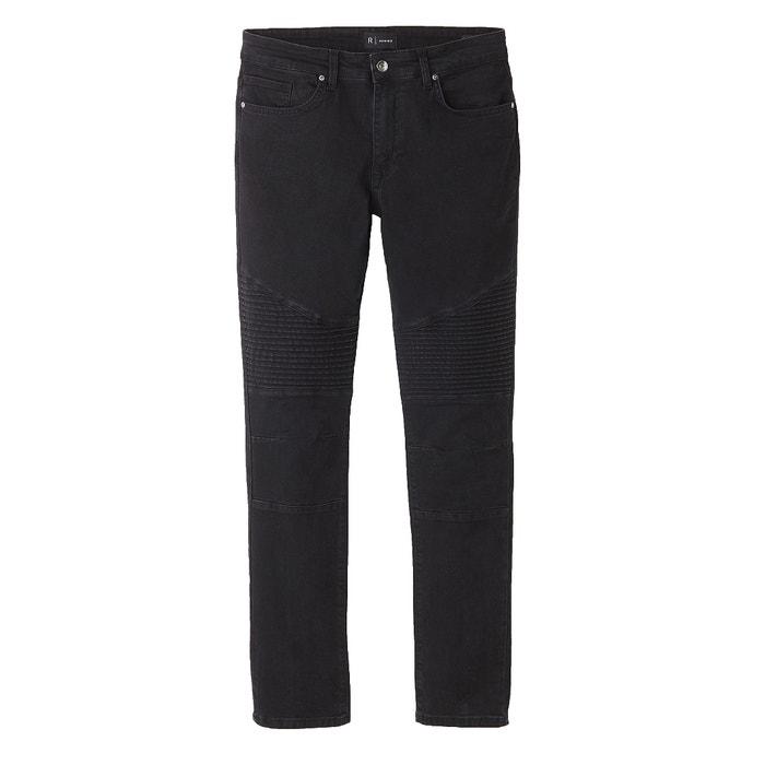 afbeelding Slim jeans met biker spirit R essentiel