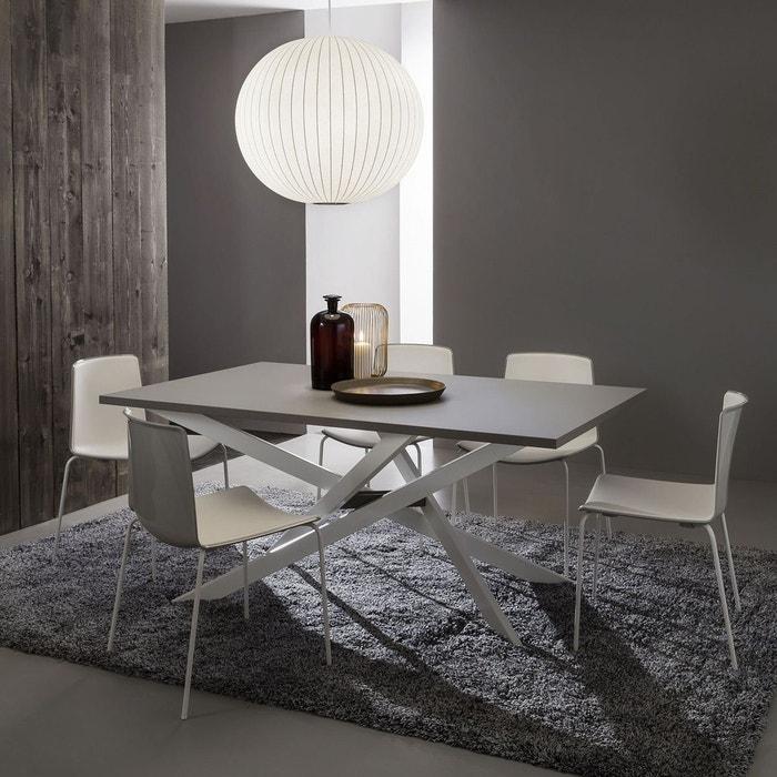 Renzo Par Design Table Repas 100x170250cm Sélection Extensible Fenix Zendart De TFJ3K1cl