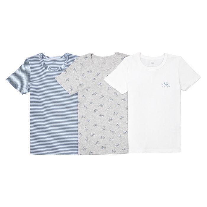 Confezione da 3 t-shirt intime da 2 a 12  Oeko Tex  La Redoute Collections image 0