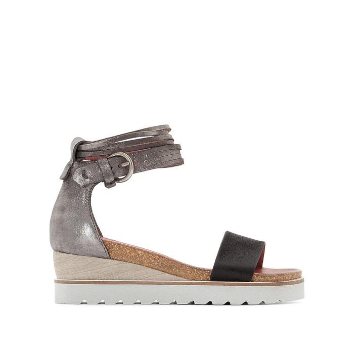 Tapas Leather Wedge Sandals  MJUS image 0