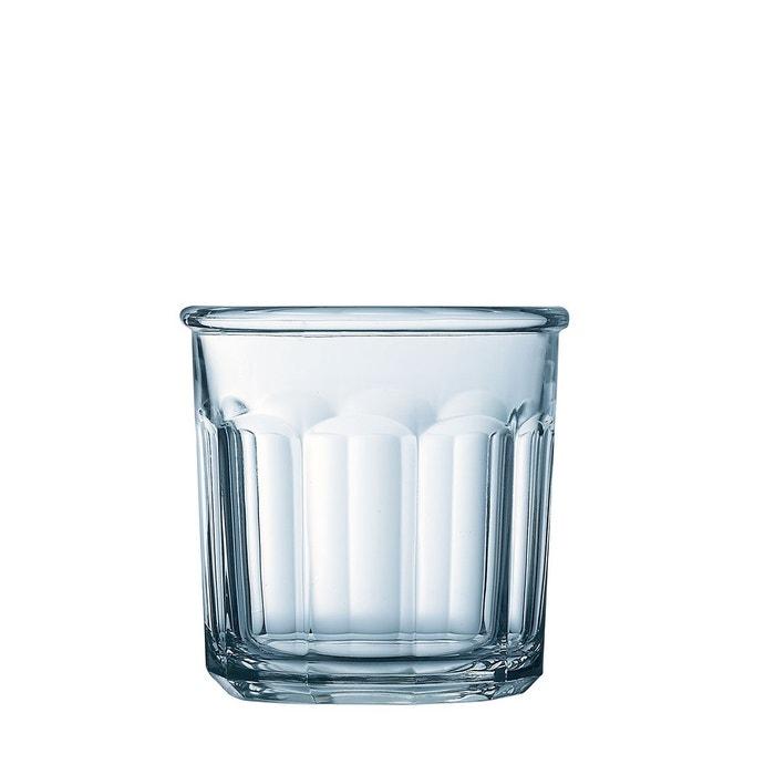 verre eau 42 cl eskale vendu par 6 transparent luminarc la redoute. Black Bedroom Furniture Sets. Home Design Ideas