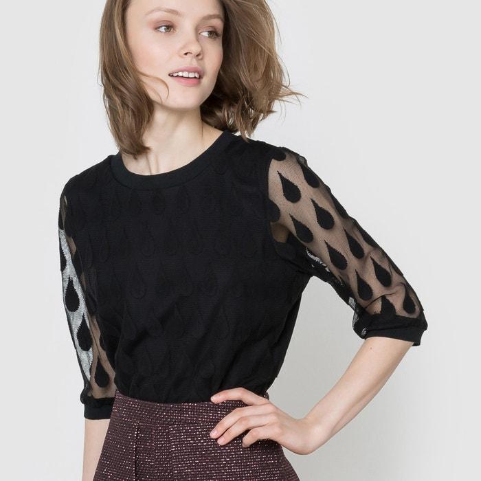 afbeelding Sweater met transparant effect MADEMOISELLE R