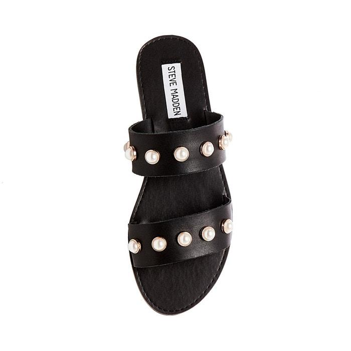 Sandale à perles en cuir jole Steve Madden