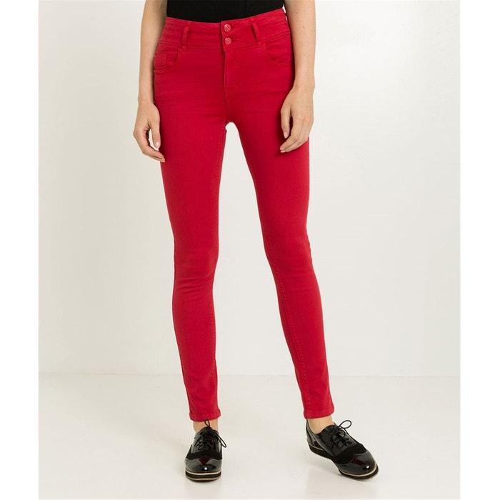 Pantalon slim taille haute Grain De Malice  900e25b3ad7