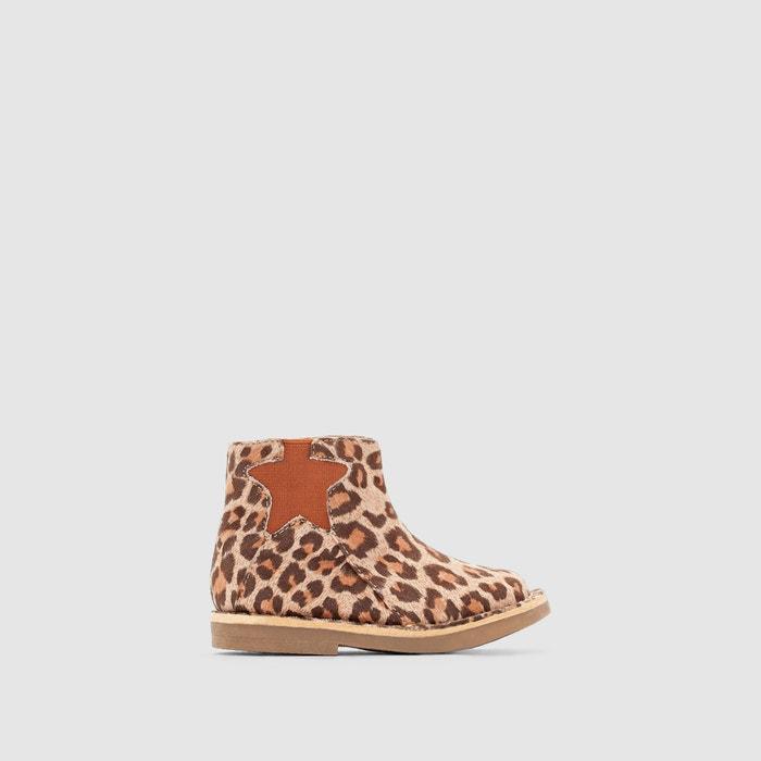 Imagen de Botines estampado leopardo R mini