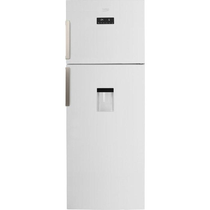 refrigerateur congelateur en haut rdne455e31dzw blanc beko. Black Bedroom Furniture Sets. Home Design Ideas