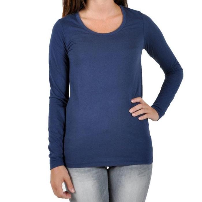 3f303fb9d439e Tee shirt twix uni bleu peacoat bleu Little Marcel