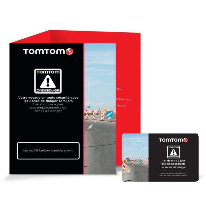 Carte TOMTOM 1 an de MAJ des zones de danger