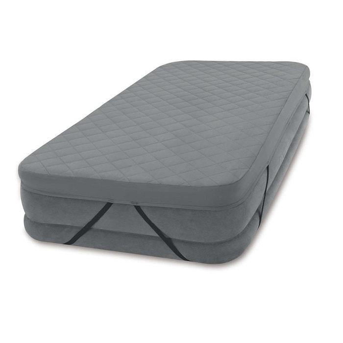 surmatelas pour matelas gonflable 1 place gris intex la. Black Bedroom Furniture Sets. Home Design Ideas