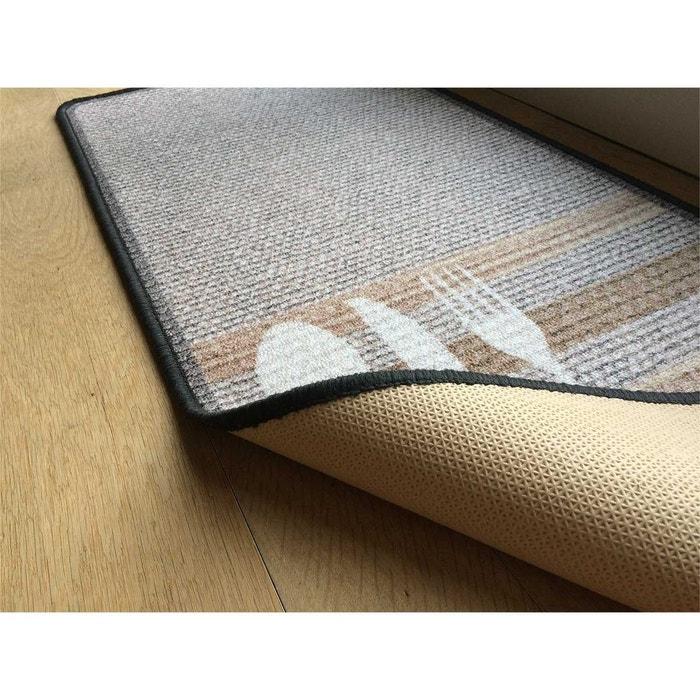 tapis de cuisine beige motif bistrot multicolore casame la redoute. Black Bedroom Furniture Sets. Home Design Ideas