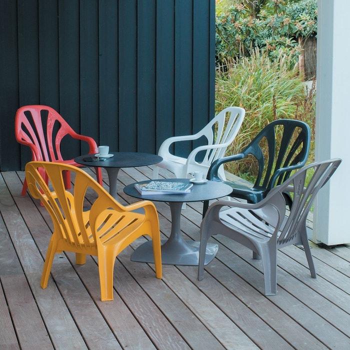 fauteuil bas de jardin bol ro zendart la redoute. Black Bedroom Furniture Sets. Home Design Ideas