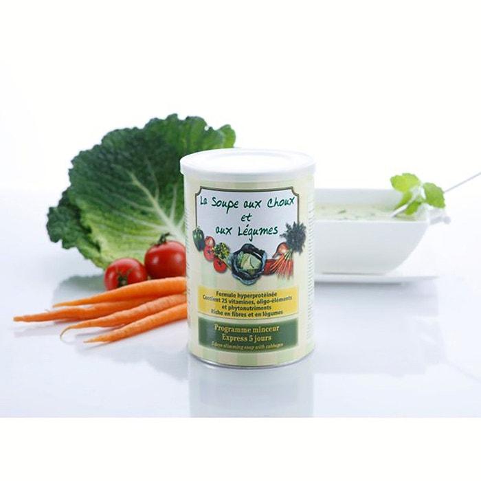 Soupe Aux Choux Et Aux Legumes Lot De 2 Boites Nocolor Nutriexpert
