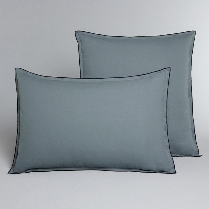 Image Taie d'oreiller voile de coton lavé, Gypse AM.PM.