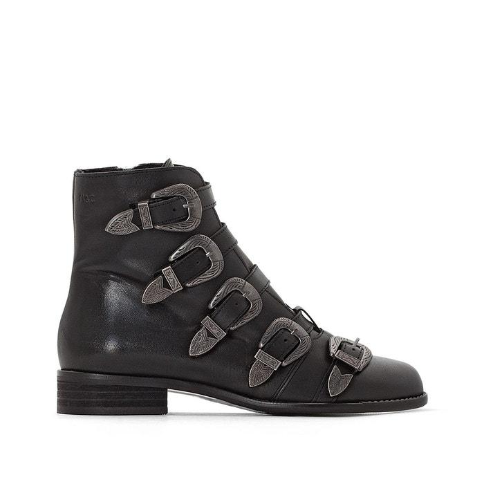 Coolway amp;cloud La Boots Noir Redoute Musse Kenzie Cuir wYwqTXt