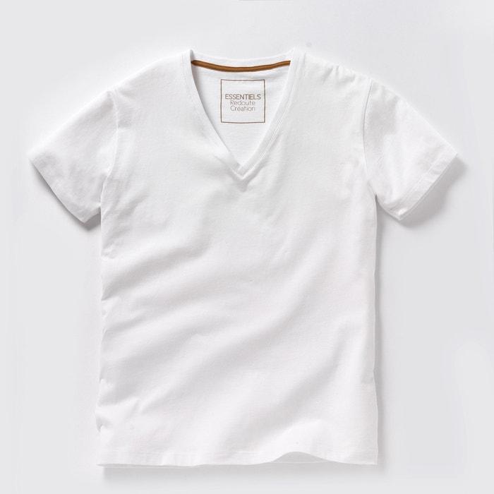 T-shirt THEO profondo scollo a V Oeko Tex  La Redoute Collections image 0