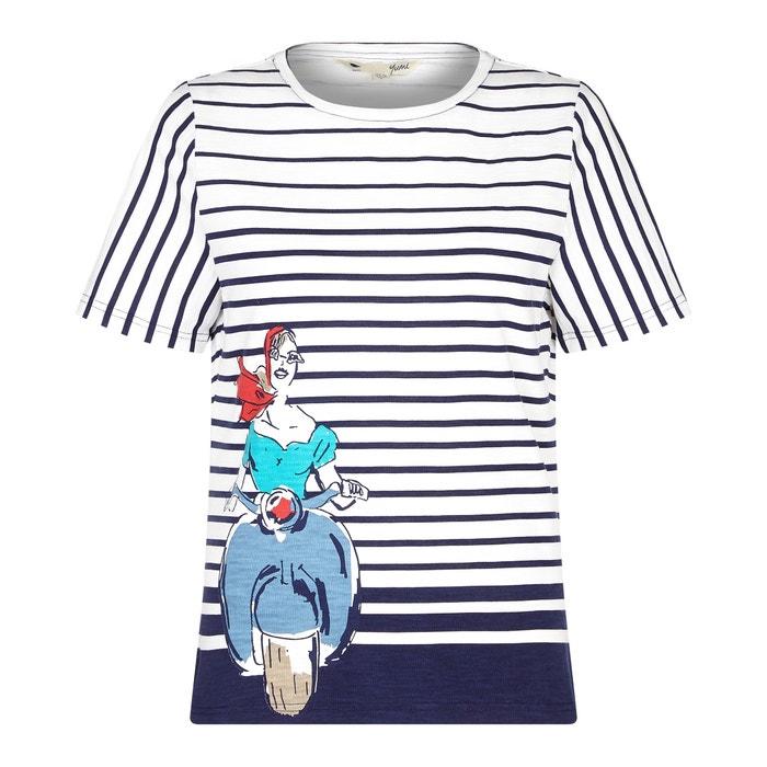 manga Camiseta YUMI estampada cuello corta redondo 4Iqd1xq