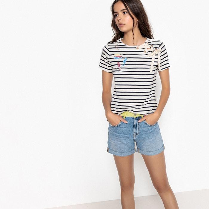 T-Shirt mit rundem Ausschnitt  La Redoute Collections image 0