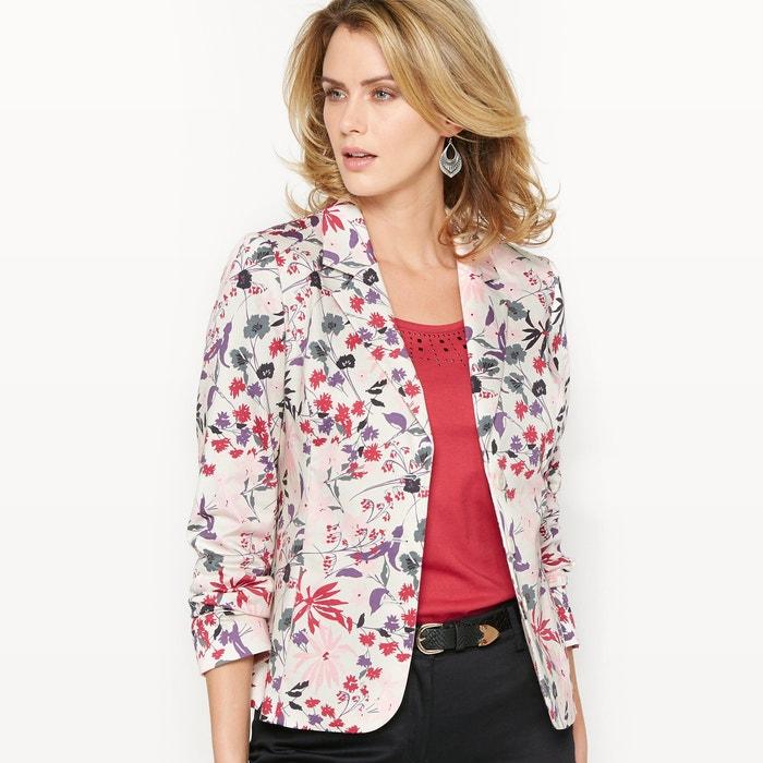 Image Cotton Satin Jacket ANNE WEYBURN