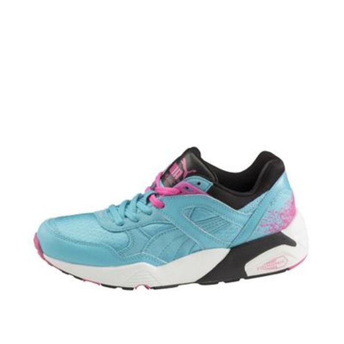 Turquoise Trinomic R698 Femme Puma Rose Baskets VUpSzM